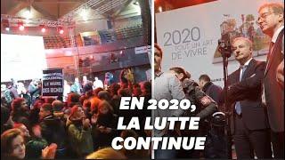 Download Les vœux du maire de Toulouse perturbés par des manifestants Video