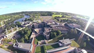 Download Trent University Aerial Tour in Peterborough, Ontario Video