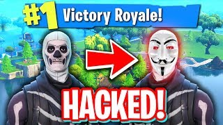 Download HACKING FRIENDS SKULL TROOPER FORTNITE ACCOUNT! (STEALING ALL SKINS) Video