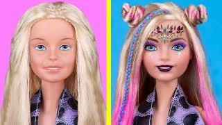 Download 12 DIY Makeup Miniatures That Work / Clever Barbie Hacks And Crafts Video
