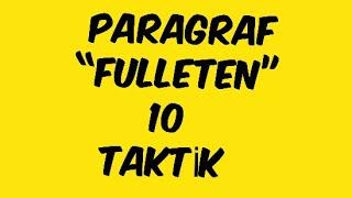 """Download Paragraf """"FULLETEN"""" 10 TAKTİK Video"""