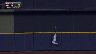 Download Carlos Gomez SAVES the day with an unbelievable GAME-ENDING CATCH at the wall! Video