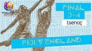Download BRONZE MEDAL MATCH   Fiji v England   #NWYC2017 Video