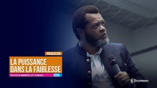 Download La puissance dans la faiblesse. Pasteur MARCELLO TUNASI Soirée de gloire du 19 Juin 2019 Video