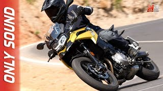 Download NEW BMW F 750 GS 2018 - FIRST TEST DRIVE ONLY SOUND Video