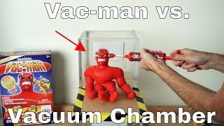 Download What Happens To Vac-man In a Vacuum Chamber? (Stretch Armstrong's Nemesis)! Video