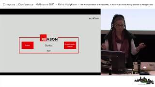 Download Compose :: Melbourne 2017 - Keira Hodgkison - The Why and How of ReasonML Video