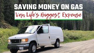 Download Saving Money On Gas | Van Life's biggest Expense Video