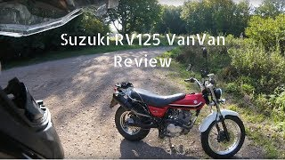 Download Suzuki RV125 VanVan Review Video