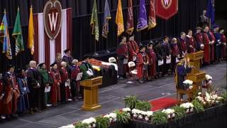 Download UW-Madison May 12, 2017 Commencement Ceremony Video