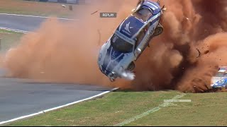 Download Most Unbelievable Motorsport Crashes [No Music] Video