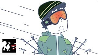 Download Rooster Teeth Animated Adventures - Snowboard Slam Video