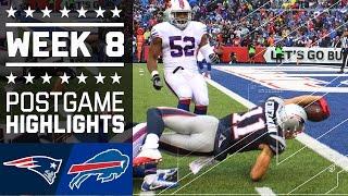 Download Patriots vs. Bills (Week 8) | Game Highlights | NFL Video