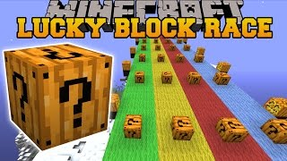 Download Minecraft: SPOOKAY HALLOWEEN LUCKY BLOCK RACE - Lucky Block Mod - Modded Mini-Game Video
