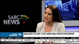 Download Absa goes to court to set aside public protector's report Video