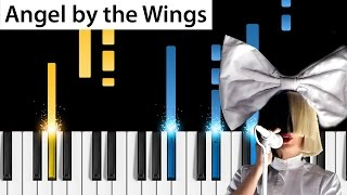 Download Sia - Angel by the Wings - Piano Tutorial - How to play Angel by the Wings on piano Video