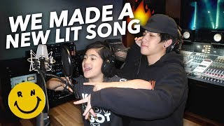 Download WE MADE A NEW SONG! (IT'S LIT) | Ranz and Niana Video