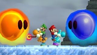 Download Newer Super Mario Bros Wii - All Bosses (2 Player) Video