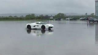 Download Drifting a white Ferrari LaFerrari!!! Video