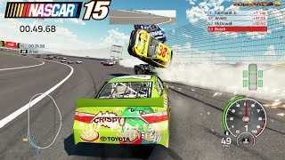Download Best Crashes in a Circle Simulator: Nascar'15 The Game Video
