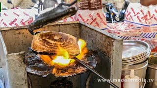 Download CHEESE MASALA TOAST SANDWICH MAKING | STREET FOODS 2017 Video