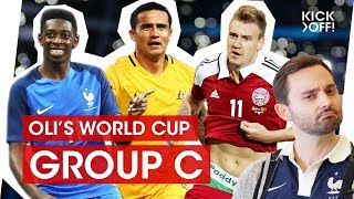 Download Has France the world's best squad? Who can stop them?   Oli's FIFA World Cup 2018 Group C Video