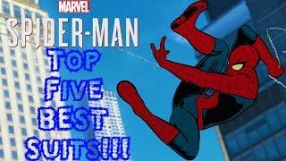 Download Top 5 BEST Suits in Spider-Man PS4!!! Video