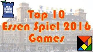 Download Top 10 Anticipated Essen Spiel 2016 Games Video