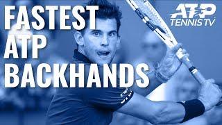 Download Fastest EVER ATP Backhands ⚡️ Video