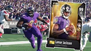 Download GOLDEN TICKET LAMAR JACKSON!! THE FINAL PLAY 👀 | MADDEN 18 ULTIMATE TEAM GAMEPLAY EPISODE 84 Video