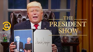 Download Executive Orders: A Little Less Transparency - The President Show - Comedy Central Video