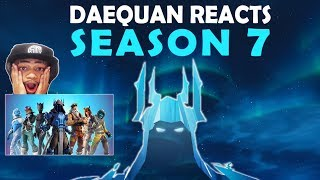 Download DAEQUAN REACTS TO SEASON 7 & DESTROYS IN FIRST GAME! | BATTLEPASS, NEW MAP, NEW SKINS, AIRPLANES! Video