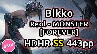 Download Bikko | Reol - MONSTER [FOREVER] | HDHR SS 443pp | Live Spectate w/ Chat Reactions Video