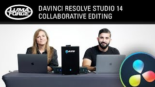 Download DaVinci Resolve Studio 14 Collaborative Editing Video