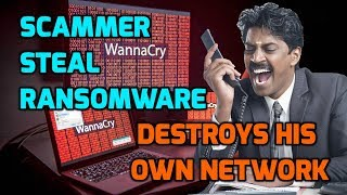 Download Scammer Steals Virus And Destroys His Own PC Video