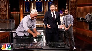 Download Jeremy Wade Brings River Monsters to Jimmy, Will Forte and Adam Horovitz Video