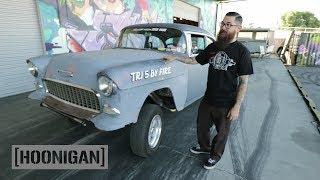 Download [HOONIGAN] DT 036: Chase's 1955 Chevy May Have Some Wheel Hop Issues Video