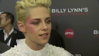 Download Billy Lynn's Long Halftime Walk: Kristen Stewart Red Carpet Movie Premiere Interview Video