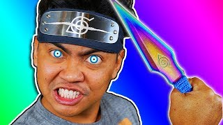 Download Trying Weird NINJA Gadgets You Never Knew About Video