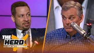 Download Chris Broussard reacts to Magic's remarks about Pelinka & Lakers, talks KD's future | NBA | THE HERD Video