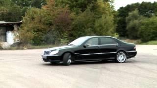 Download Mercedes S 55 AMG Drift Video