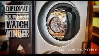 Download Diplomat Watch Winder Review: Automatic Double Winder Video