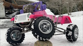 Download Ultimate Princess Jeep Build 4-Link Suspension and Steering Part 3 Video