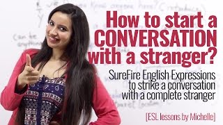 Download How to start a conversation with strangers? English phrases to speak English with confidence. Video