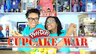 Download The Frog Vlog: Play Doh Cupcake Wars Challenge Video