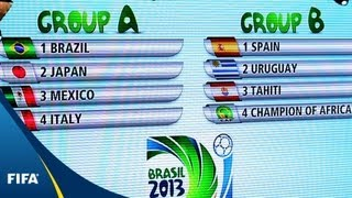 Download Brazil draw Italy in FIFA Confederations Cup Video
