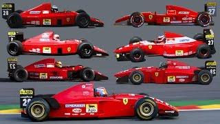 Download Ferrari F1 V12 special (1989-1995) 6.000.000 views special Video