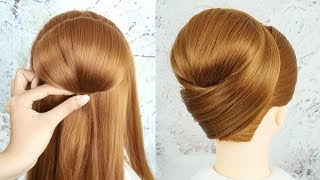 Download Chignon Hairstyles For Weddings - Easy And Cute Hairstyles For Party | Trending Hairstyle For Ladies Video