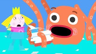 Download Ben and Holly's Little Kingdom | Octopus Attack | 1Hour | HD Cartoons for Kids HD Video