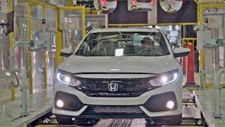 Download CAR FACTORY: 2017 Honda CIVIC Hatchback Video